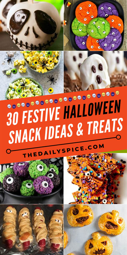 Fun Halloween Snack Ideas and Halloween Treats