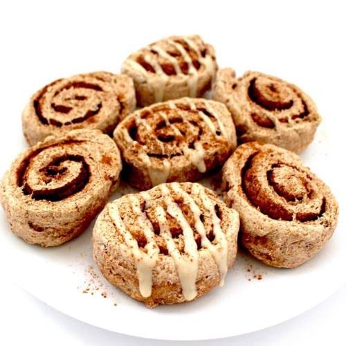 Sugar free desserts: 30 minute Vegan Cinnamon Rolls