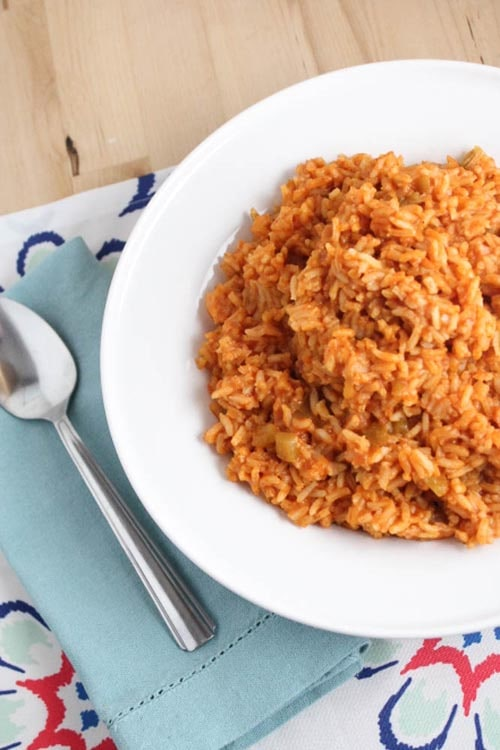 Meatless meal recipes: 5 Ingredient Spanish Rice