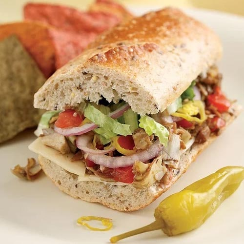 Meatless meal recipes: Italian Vegetable Hoagies