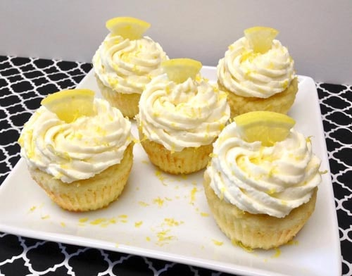 Sugar free desserts: Lemon Cupcakes