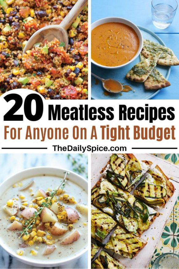 20 Meatless Meal Recipes