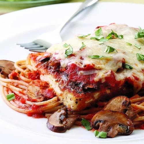 Meatless meal recipes: Tofu Parmigiana