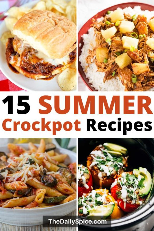 Summer crockpot recipes