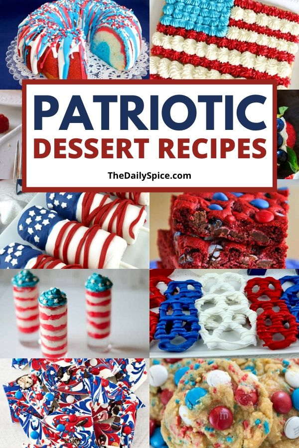 15 Patriotic 4th Of July Desserts