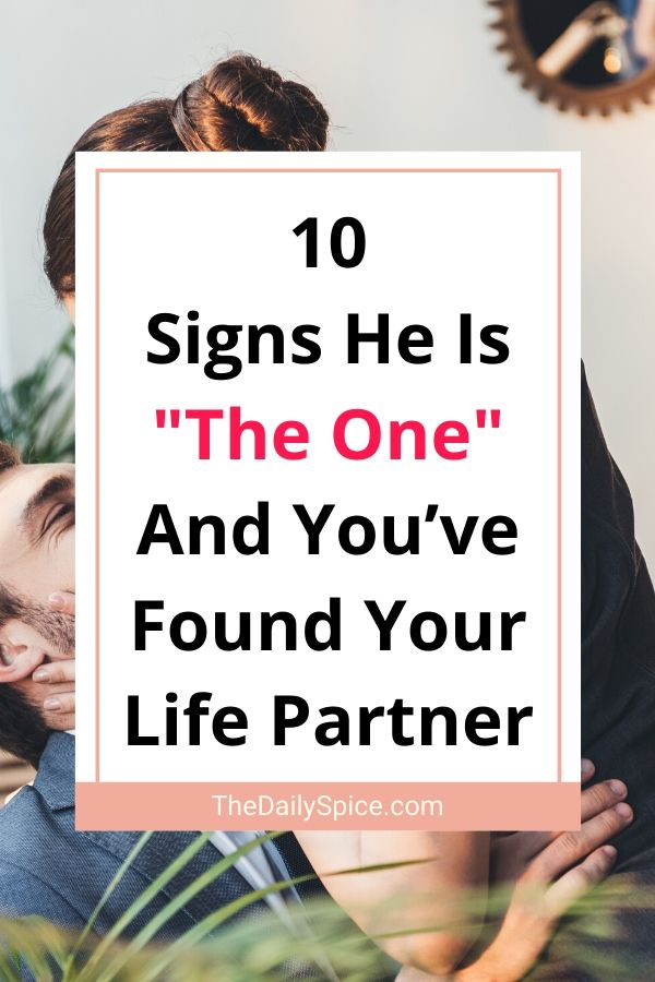 Signs He Is The One