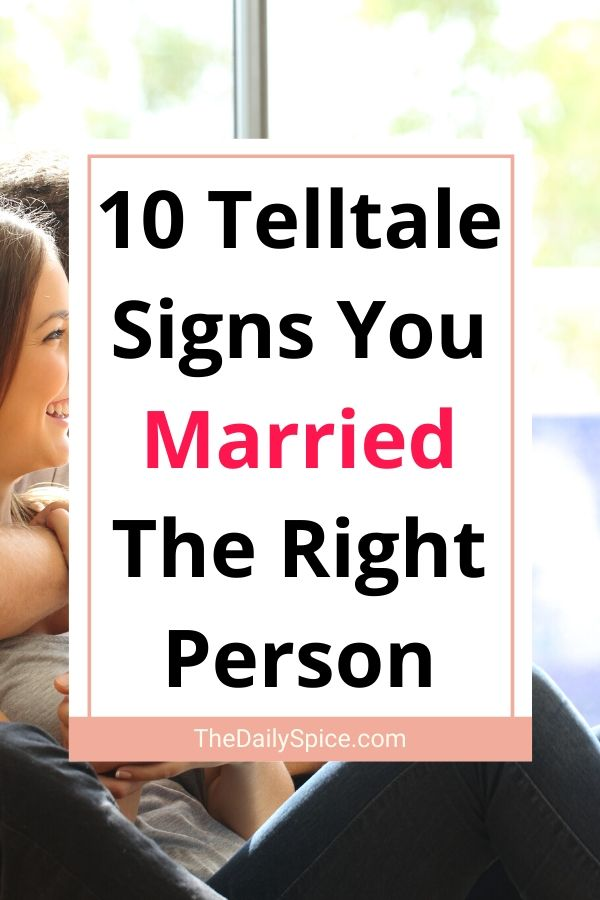 10 Telltale Signs You Married The Right Person