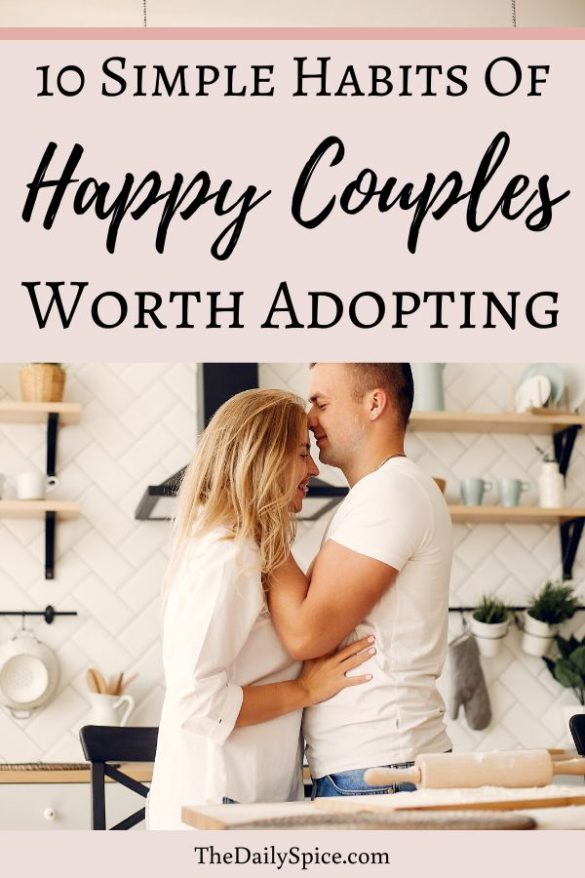 Habits Happy Couples Have