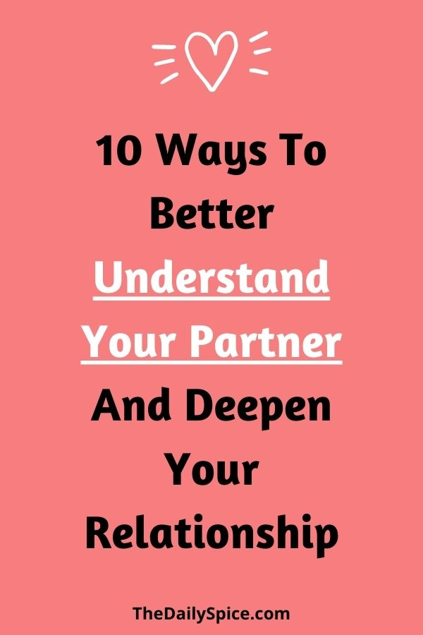 How To Understand Your Partner
