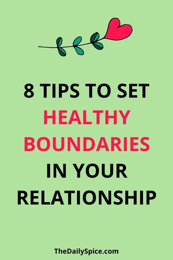 How To Set Boundaries In A Relationship