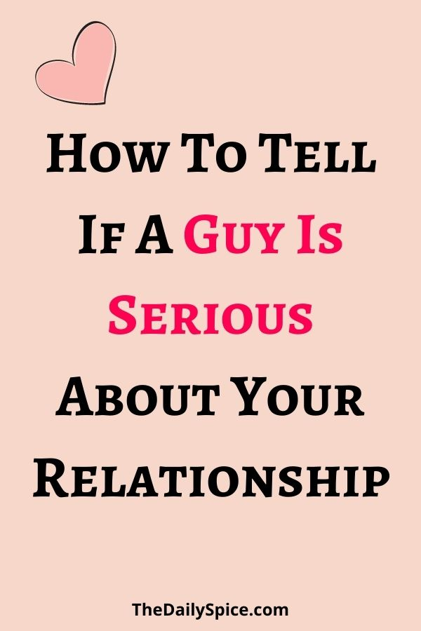 Signs He Is Serious About You