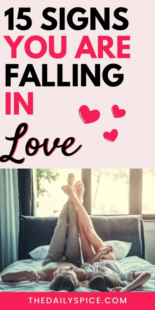 Signs You Are Falling In Love With Someone
